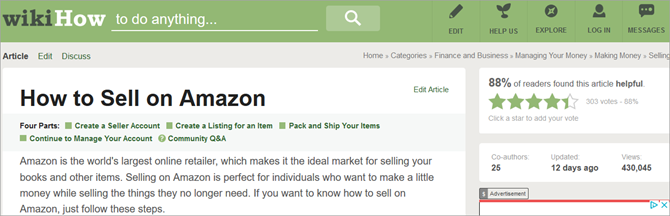 How to Sell on Amazon - wikiHow