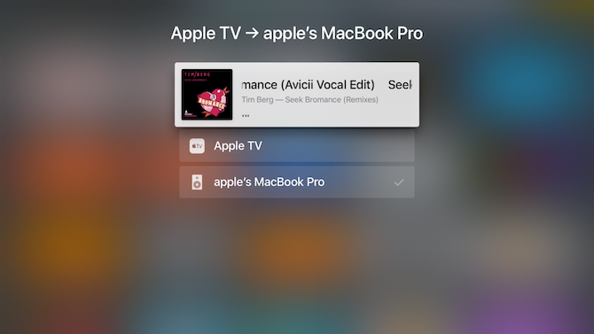 Apple TV Outputs
