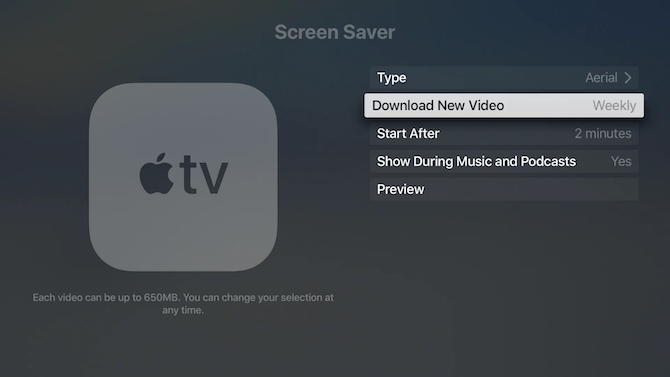 Apple TV Screen Saver