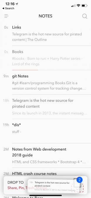 10 Gründe, warum Notizen zu tragen ist besser als Apple Notes