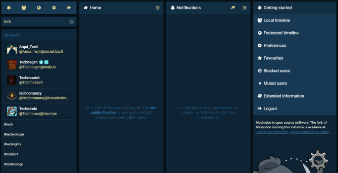 Mastodon, alternativa open source Twitter
