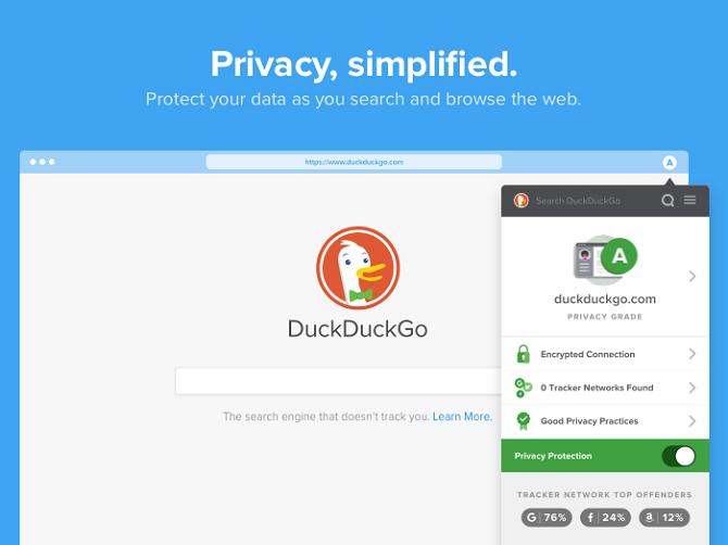 duckduckgo vs google the best search engine