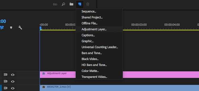 adobe premiere pro tips - layer adjustment