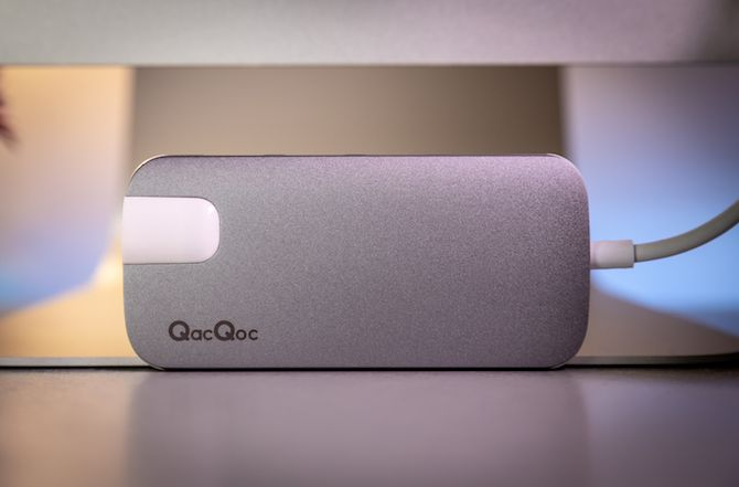 This USB-C Hub Does Everything: QacQoc GN30H Review QacQoc USB Hub 14
