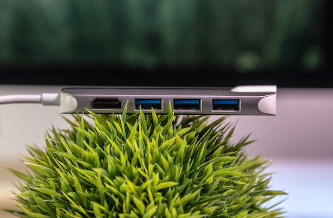 This USB-C Hub Does Everything: QacQoc GN30H Review QacQoc USB Hub 5