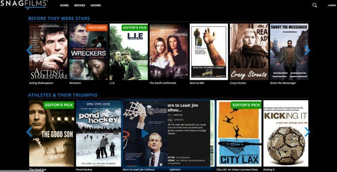 The Best Free Movie Streaming Sites - SnagFilms