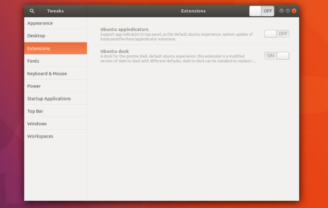 disable or uninstall extensions to speed up gnome