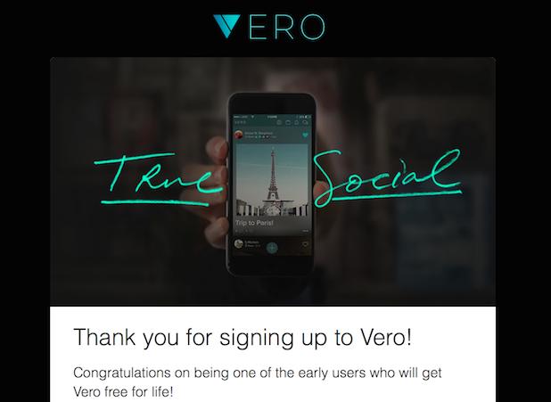 Assinatura Vero True Social