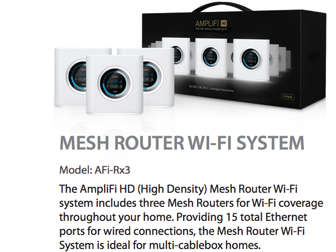AmpliFi HD: The Best Home Wi-Fi System On The Market amplifi multi mesh