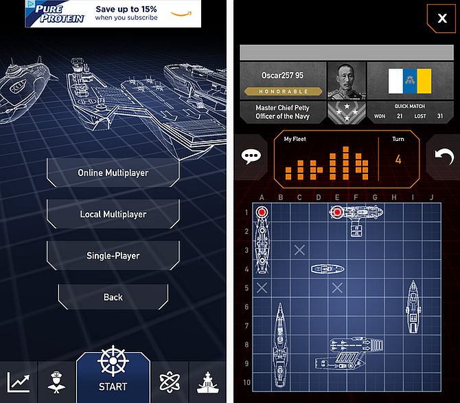 Battleships: Fleet Battle