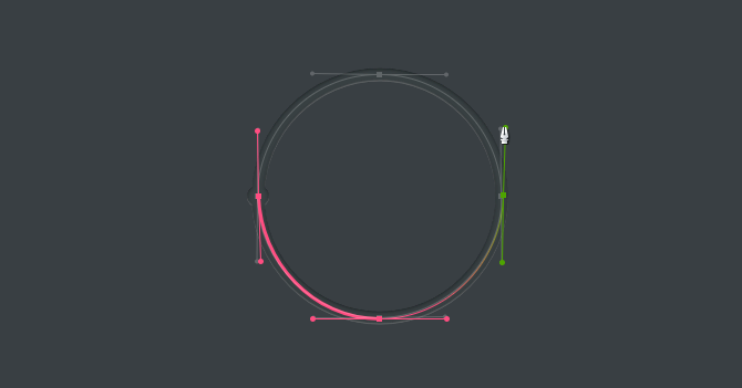bezier game circle