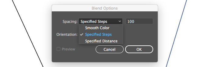 illustrator blend tools