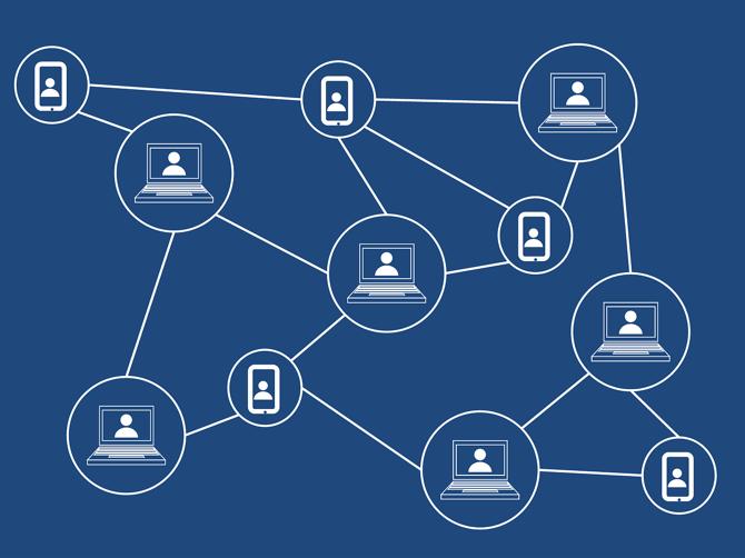 Blockchain network visualization