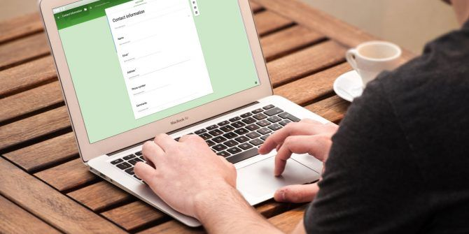 How to Create a Free Website Contact Form With Google Forms