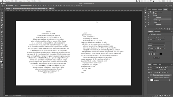 working with text in photoshop - photoshop custom shapes