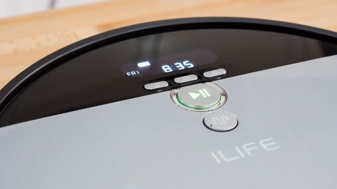 iLife V8s: The Best Budget Robot Cleaner Just Got Better ilife v8s lcd screen