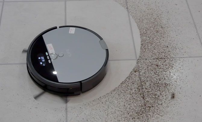 iLife V8s: The Best Budget Robot Cleaner Just Got Better (Review & Giveaway!) ilife v8s testing 1
