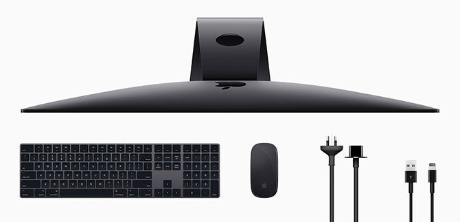 iMac Pro Space Grey Accessories