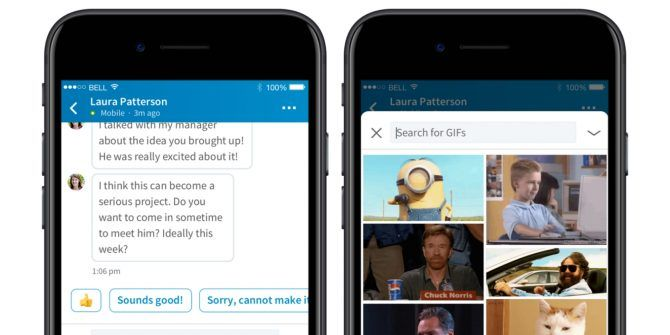 You Can Now Use GIFs in LinkedIn Messages