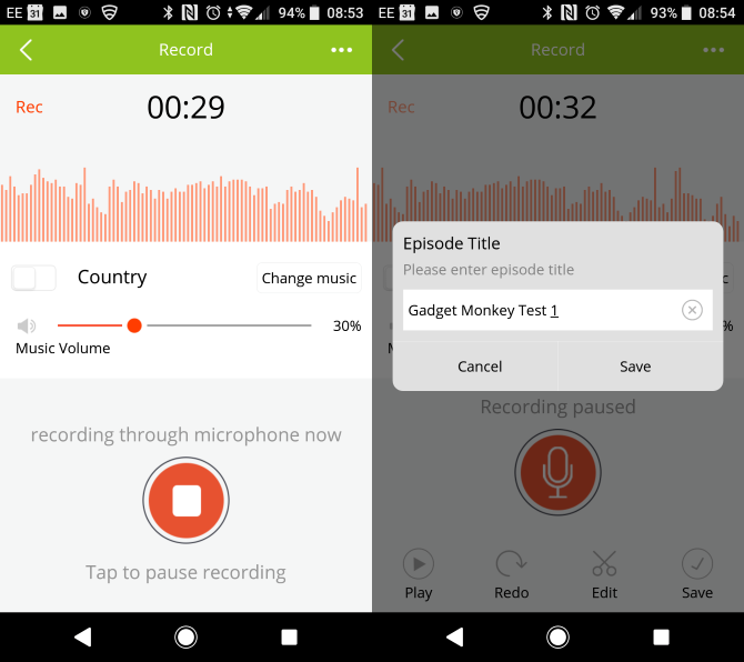 Podbean Android Podcasting App