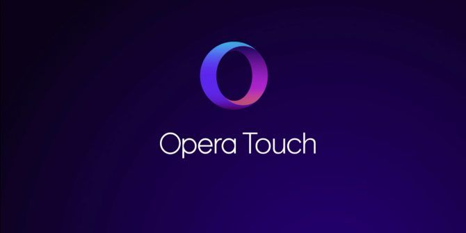 Opera Touch Is a New One-Handed Mobile Browser