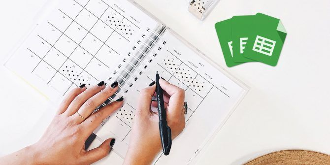 How to Use Google Sheets to Keep Every Part of Your Life Organized