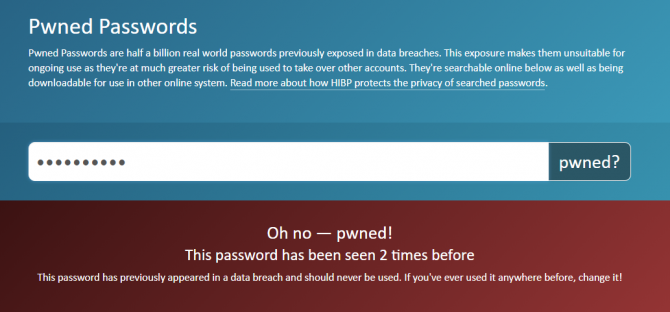 pwned passwords - were my online accounts hacked?