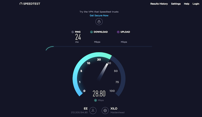 comcast internet wifi speed test