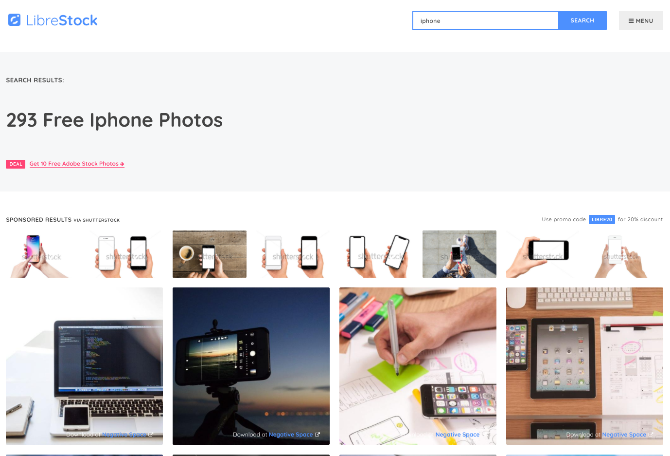 5 lesser known free stock image sites for images that stick out