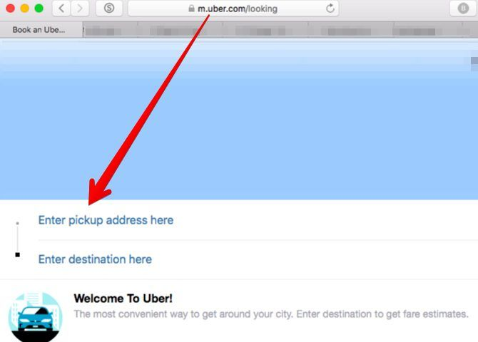 Apps You Can't Live Without - uber on desktop