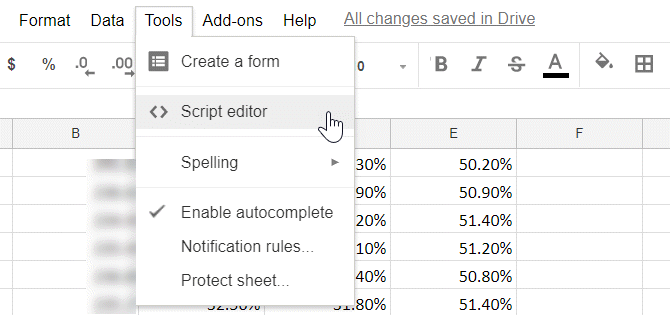 logging your daily life to google sheets automatically