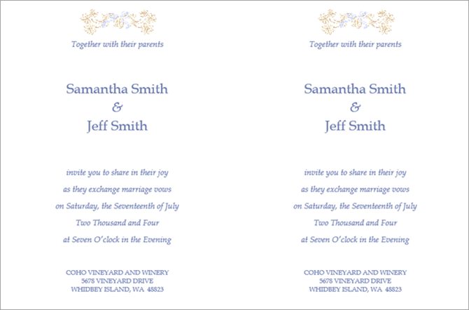 free microsoft word invitation templates traditional wedding