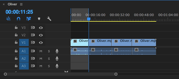 adobe premiere-marks - cut video adobe premiere