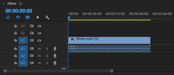 adobe premiere timeline - cut video adobe premiere