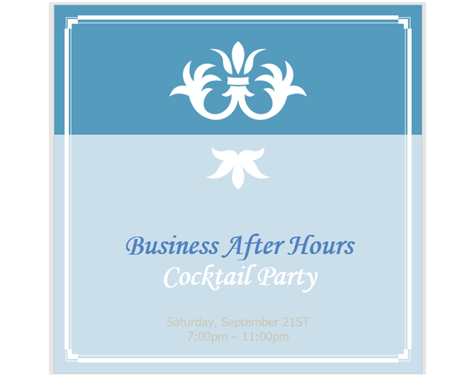 Party Invitations Templates | 13 Free Templates For Creating Event Invitations In Microsoft Word