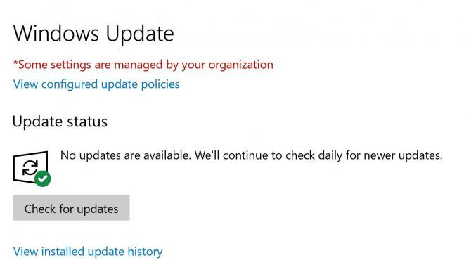 How to Manually Download the Windows 10 April 2018 Update Check Windows Update e1525353689207