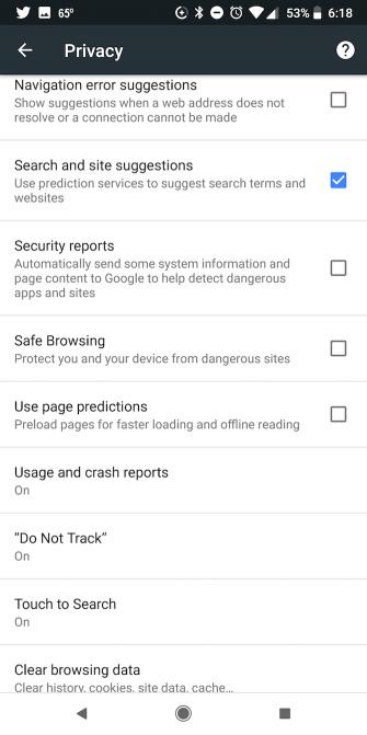 Wie Sie Ihr mobiles Durchsuchen von privaten