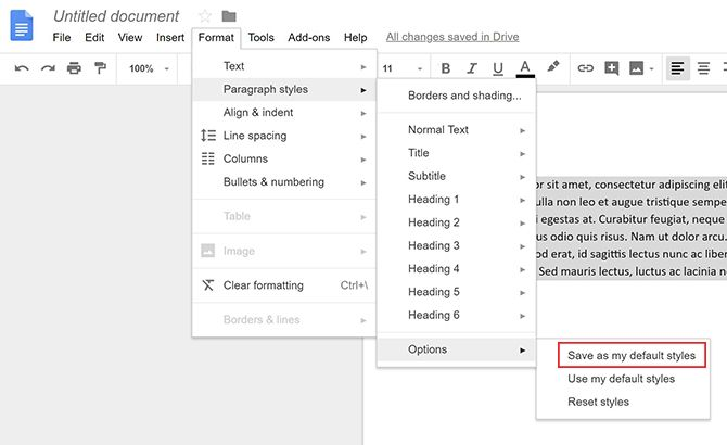 How to Change the Default Fonts in Word and Google Docs