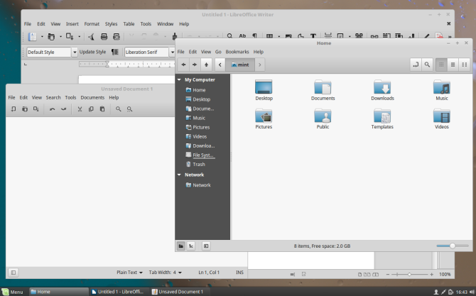 why Linux Mint? - consistent interface