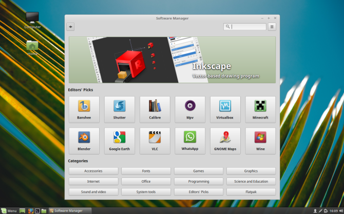 why Linux Mint? - best software manager