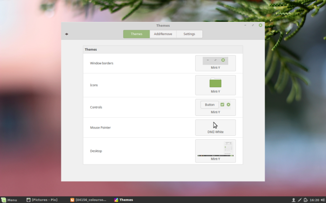 why Linux Mint? - easy to customize