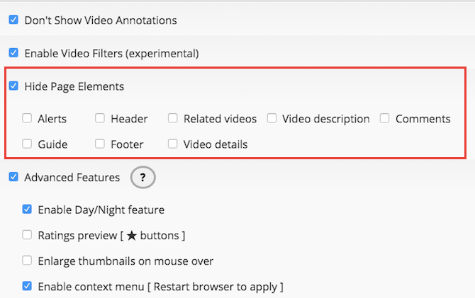 use magic actions when you watch youtube