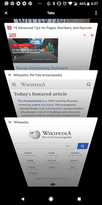 Opera Touch für Android macht einhändiges Browsen auf größeren Bildschirmen einfacher