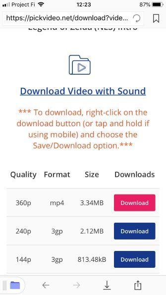 So laden und speichern Sie YouTube Videos auf dem iPhone