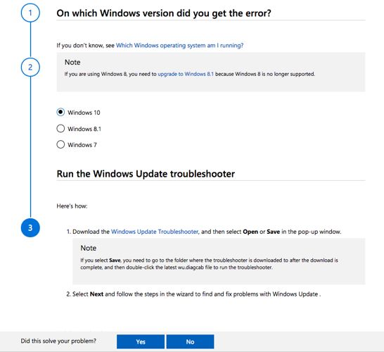 Fix Windows Update issues