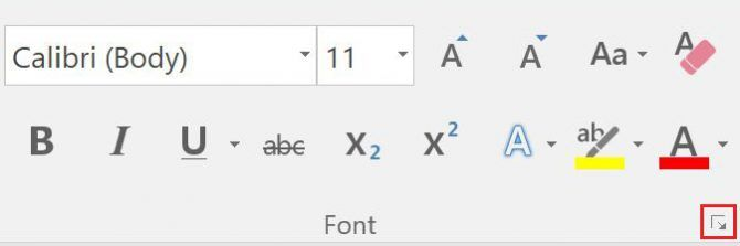 How to Change the Default Fonts in Word and Google Docs Word Font 1 670x223