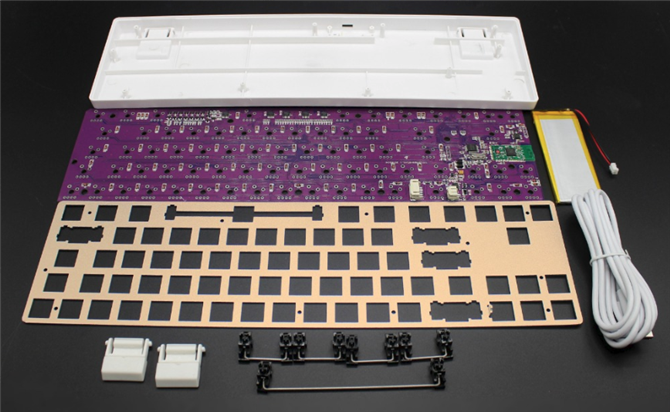 build custom mechanical keyboard using a kit
