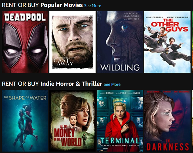 best places to rent movies online