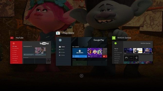 Android TV Switch Apps