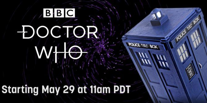 Twitch Is Streaming a Doctor Who Marathon